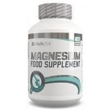 Vitaminas y Minerales Magnesio 120Caps Bitotech USA