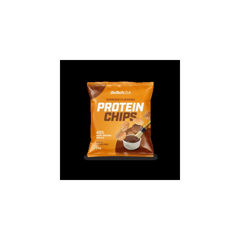 BARRITAS-SNACKS-BEBIDAS Protein Chips 25g
