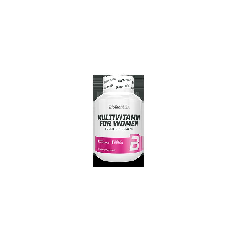 VITAMINAS Y MINERALES Multivitamin for Women 60 Tabs