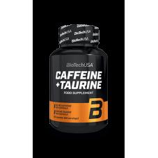 ÓXIDOS NÍTRICOS Y ENERGÉTICOS Caffeine + Taurine 60 Caps