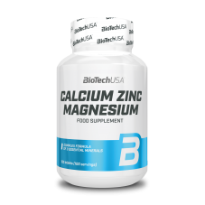 VITAMINAS Y MINERALES Calcium Zinc Magnesium 100 Tabs