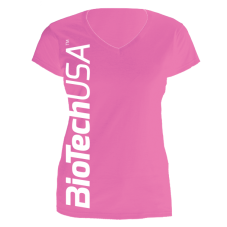 Inicio Biotech USA T-Shirt Rosa